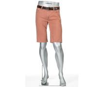 Jeans Bermudas Pipe-K Regular Slim Fit Baumwoll-Stretch rouge