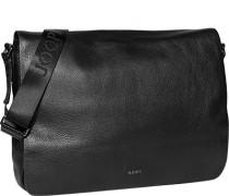 Herren Tasche  Aktentasche Leder schwarz