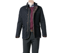 Steppjacke Wolle Thermore® dunkelblau