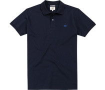 Polo-Shirt Polo Slim Fit Baumwolle navy