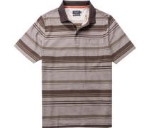 Polo-Shirt Polo, Baumwolle mercerisiert, gestreift