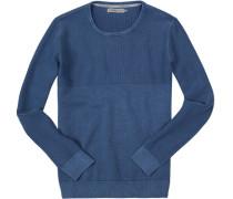Pullover Baumwolle himmelblau
