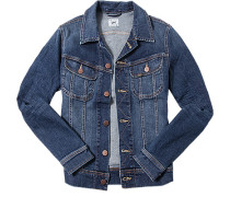 Jacke Slim Fit Blue-Jeans denim