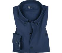 Hemd, Oxford, dunkelblau