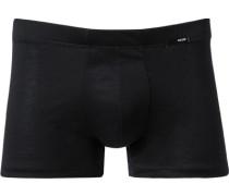 Herren Unterwäsche Trunk Baumwolle mercerisiert schwarz