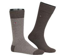 Socken Socken Baumwolle gestreift