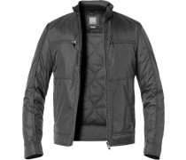 Jacke Microfaser Thermore® grau