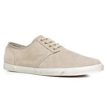 Herren Schuhe Sneaker Veloursleder sand beige,grau