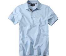 Polo-Shirt Polo hellblau