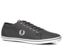 Schuhe Sneaker Textil dunkelgrau