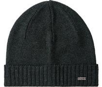Mütze Baumwolle anthrazit