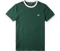 Herren T-Shirt Baumwolle grün