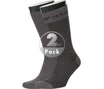 Socken Socken Baumwolle -schwarz gestreift
