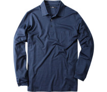 Polo-Shirt Polo, Pima Baumwoll-Jersey, marine