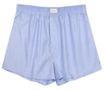 Herren Unterwäsche Boxer-Shorts Fil-à-Fil bleu blau