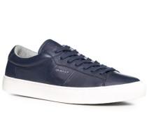 Schuhe Sneaker Leder marine