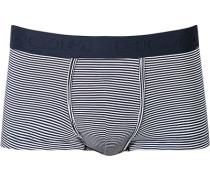 Herren Unterwäsche Trunk Modal-Mix navy gestreift blau