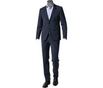 Anzug Extra Slim Fit Schurwolle nachtblau