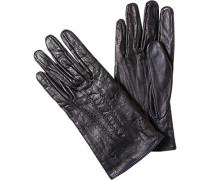 Handschuhe, Rindleder, dunkelbraun