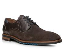 Schuhe DIAZ Kalb-Schafleder dunkelbraun