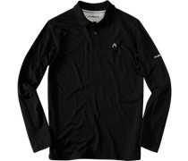Herren Polo-Shirt Polo Dycomfort schwarz