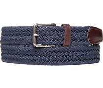 Herren Gürtel marine Breite ca. 3 cm blau