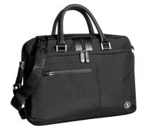 Herren Tasche BOGNER Laptop-Tasche Microfaser schwarz
