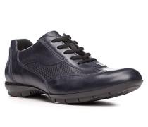 Herren Schuhe ANDRES Kalbleder blau