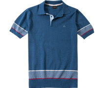 Polo Slim Fit Baumwolle jeansblau
