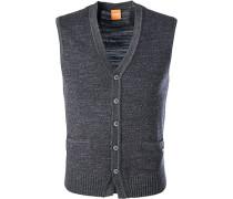 Pullover Strick-Weste, Baumwolle