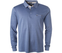 Polo-Shirt Polo, Baumwolle, himmelblau