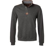 Pullover Toyer Baumwolle graphit meliert