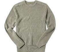 Pullover, Baumwolle, greige