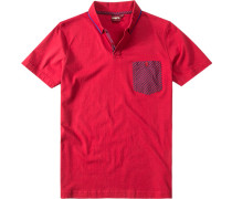 Polo-Shirt Polo Slim-Fit Baumwoll-Jersey