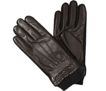 Handschuhe>br>Ziegennappa, Fleecefutter,