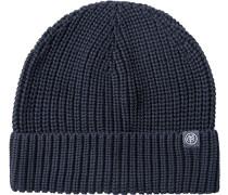 Herren   Mütze Baumwolle nachtblau
