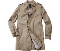 Mantel Ciridley Nylon-Baumwolle khaki