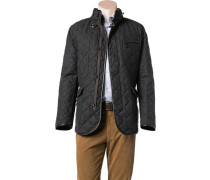 Steppjacke Wolle Thermore® anthrazit meliert