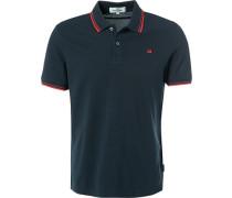 Polo-Shirt Polo, Baumwolle, navy