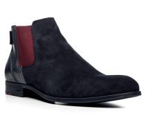 Herren Schuhe DUAL Kalb-Schafleder dunkelblau