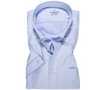 Hemd Tailor Fit Baumwolle hellblau