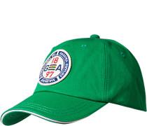 Cap Baumwolle hellgrün