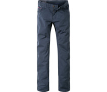 Jeans Baumwoll-Stretch marineblau