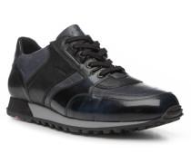 Herren Schuhe BRILON Kalbleder-Schafleder blau
