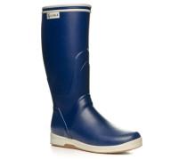 Schuhe Wellington Naturkautschuk dunkelblau