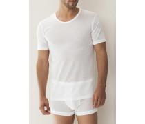 'Royal Classic' T-Shirt Baumwolle weiß oder