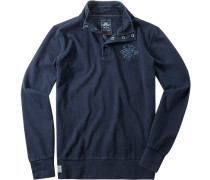 Pullover Sweater Baumwolle navy