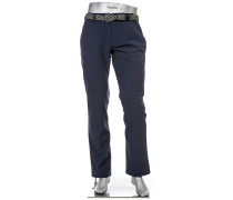 Hose Pro, Modern Fit, Microfaser, navy