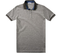 Herren Polo-Shirt Polo Slim Fit Baumwoll-Piqué braun