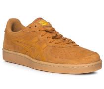 Schuhe Sneaker, Veloursleder, camel